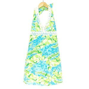 Lilly Pulitzer Shift Dress Womens 2 Back Tie